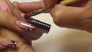 Наращивание ногтей на формах, ч. 1(Данный мастер-класс поможет новичкам устанавливать формы для создания арочных ногтей. Вторая часть видео..., 2013-08-26T13:20:16.000Z)