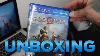 UNBOXING GOD OF WAR PS4 - 2018 // ESPAÑOL LATINO