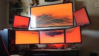 Как подключить телевизор и монитор к ПК