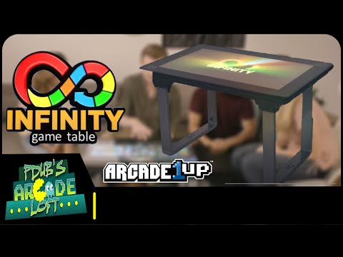 Arcade1Up Announces Infinity Gaming Table Coming Soon! from PDubs Arcade Loft