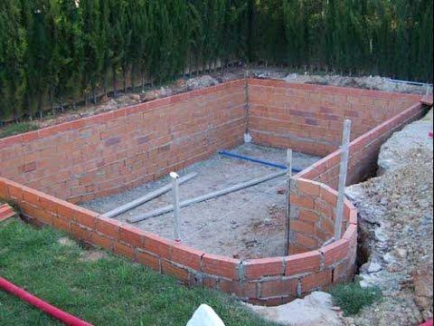 Como hacer pileta de ladrillos youtube - Material para piscinas ...