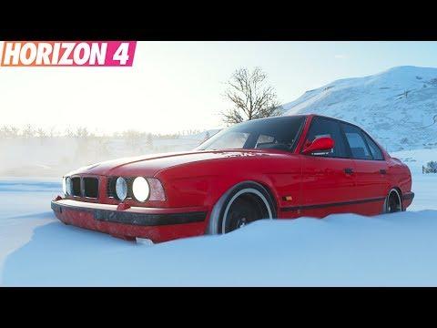 Forza Horizon 4 - BMW M5 E34 Vs Nissan Skyline R34   ТопЖыр