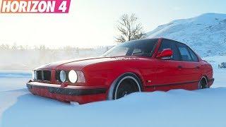 Forza Horizon 4 - BMW M5 E34 vs Nissan Skyline R34 | ТопЖыр