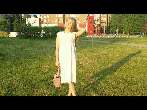 Платье ажурное спицами летнее платье для женщин