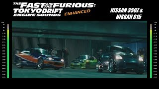Gambar cover The Fast & The Furious Toyko Drift: Engine Sounds - 350z & S15