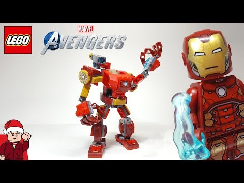 LEGO Avenges Iron Man Mech (76140) Set Review
