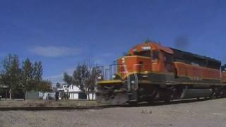 Ferrocarril Coahuila-Durango: SD40-2 # 7890 & Servicio de Patio