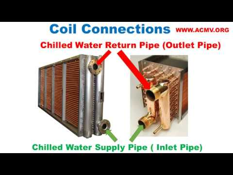 Ahu Fcu Cooling Coil Connection With Chilled Water Pipe