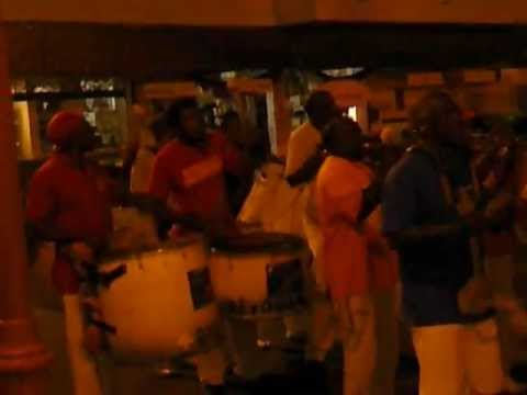 Carnaval group in Ste-Anne Martinique
