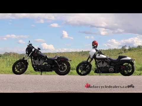 Harley-Davidson CVO Pro-Street Breakout and Low Rider S at the Bikers Reunion