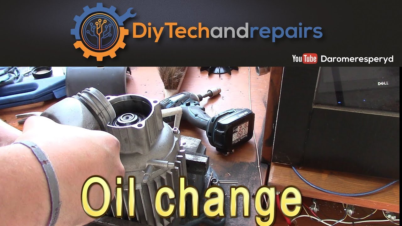 Oil change in pressure washer (Almost How to   )