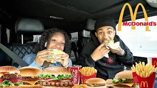 McDonalds MUKBANG with Deshae Frost's SISTER!! **EXPOSED**