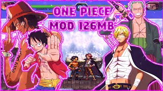 BLEACH VS NARUTO só personagens de one piece 3.3 lite mod ONE PIECE Android MUGEN