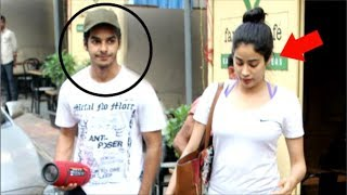 Jhanvi Kapoor & Boyfriend Ishaan Khattar IGNORE Media After Dhadak Movie Trailer Date Released