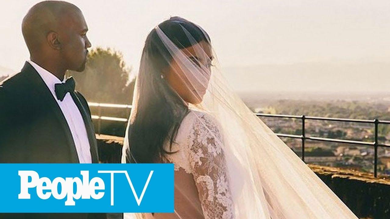 4157ea296c8 Bride Wows Family In  Kim Kardashian  Style Wedding Dress