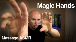 ASMR Magic Hands - Casting Sleep on You - Whispering - Feathering ?