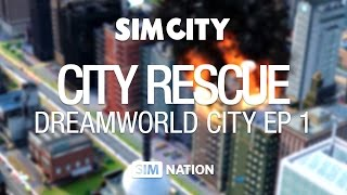 SimNation City Rescue - SimCity Dreamworld City episode 1