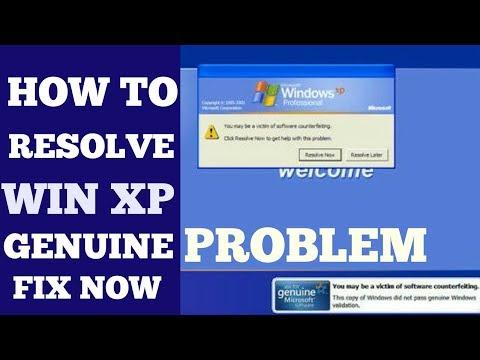 How To Activate Windows XP ???  Remove Genuine Problem