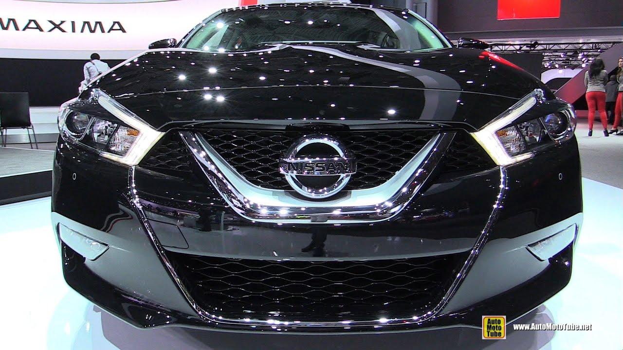 2016 Nissan Maxima SV   Exterior And Interior Walkaround   Debut At 2015  New York Auto Show   YouTube