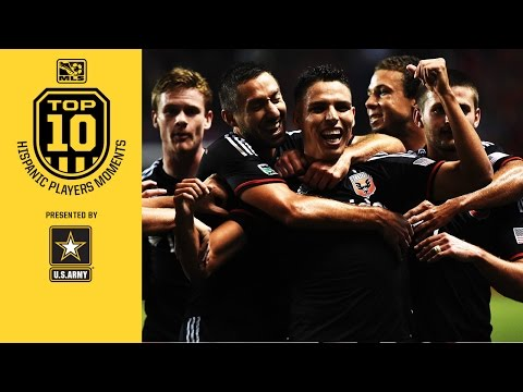 Top 10 Hispanic Moments: #7. Luis Silva and his great year with D.C. United