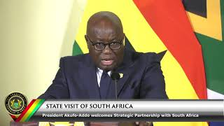 State Visit to South Africa