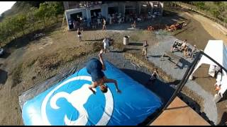 Surf Ranch Freestyle Airbag - San Juan Del Sur, Nicaragua