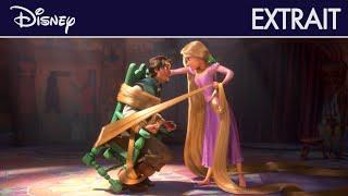 Raiponce - Extrait : Le marché avec Flynn I Disney