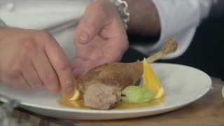 Рецепт гуся под апельсиновым соусом в мультишефе BORK U800 от шеф-повара ресторана «Нескучный сад»