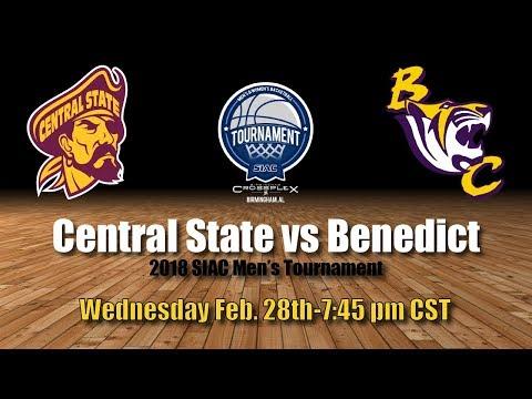 2018 SIAC Men's Tournament: Central State vs Benedict