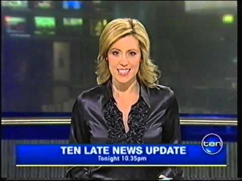 Ten Late News Update With Kathryn Robinson 2008