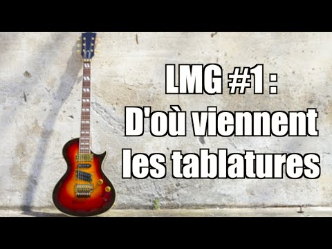 la minute guitare d 39 o viennent les tablatures youtube. Black Bedroom Furniture Sets. Home Design Ideas