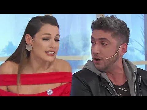 """FUERTE PELEA de Pampita y Jey Mammón en vivo: """"¡No vengo más a tu programa!"""""""