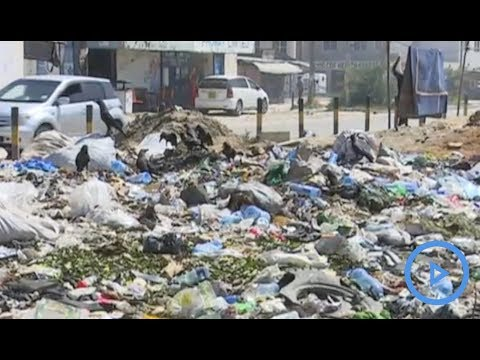 Garbage causes an eruption of illnesses in Mombasa