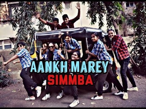 SIMMBA: Aankh Marey | Ranveer Singh, Sara Ali Khan | Neha Kakkar, Kumar Sanu | Aankh Marey O Ladki