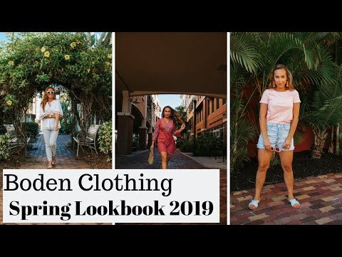 SPRING OUTFITS 2019 | BODEN
