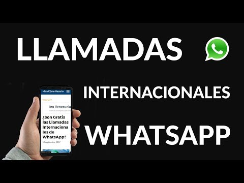 ¿Son Gratis las Llamadas Internacionales de WhatsApp?