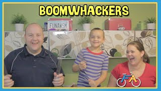 HOMEMADE BOOMWHACKERS MUSICAL INSTRUMENT