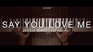 Jessie Ware - Say You Love Me | The Theorist Piano Cover