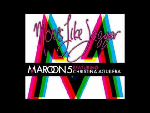 Maroon 5 Moves Like Jagger FEAT. Christina Aguilera HQ (HD)