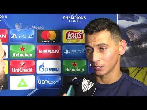 Declaraciones Ganso tras Maribor-SFC. 06/12/17. Sevilla FC