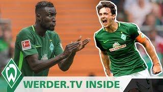 Sané gegen Sané, Champagner für Thomas Delaney | WERDER.TV Inside vor Hannover 96