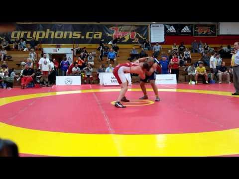 2015 Canada Cup: 97 kg Jeremy Latour (CAN) vs. Cornelus Zwaan (AUS)