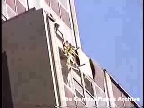 At Ground Zero, CU on damage to adjacent building