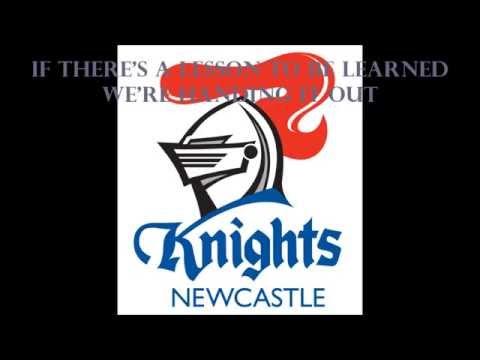 Newcastle Knights theme song (Lyrics) NRL Sing-A-Long