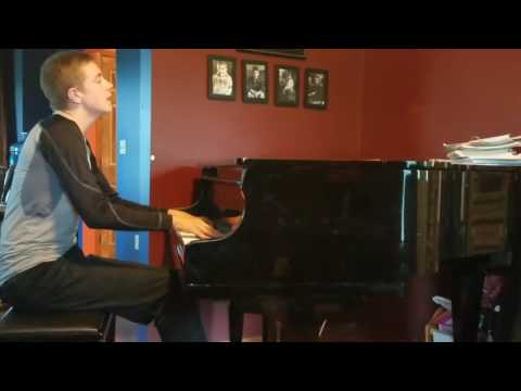 Viva La Vida-Coldplay: voice/piano cover by Michael Barlow