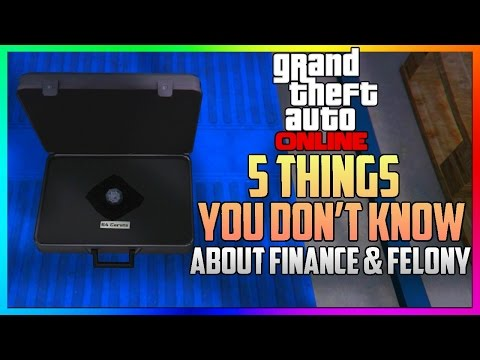 GTA ONLINE DLC - 5 SECRET FINANCE & FELONY FEATURES EXPLAINED YOU MAY NOT KNOW ABOUT! (GTA 5)
