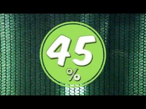 затеняющая сетка 45% - цвет, структура, крепления!  применение и назначение затеняющей сетки