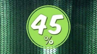 затеняющая сетка 45% - цвет, структура, крепления!  применение и назначение затеняющей сетки(, 2016-05-12T17:34:45.000Z)