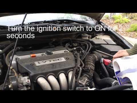 PCM Idle Learn Procedure for Honda Accord