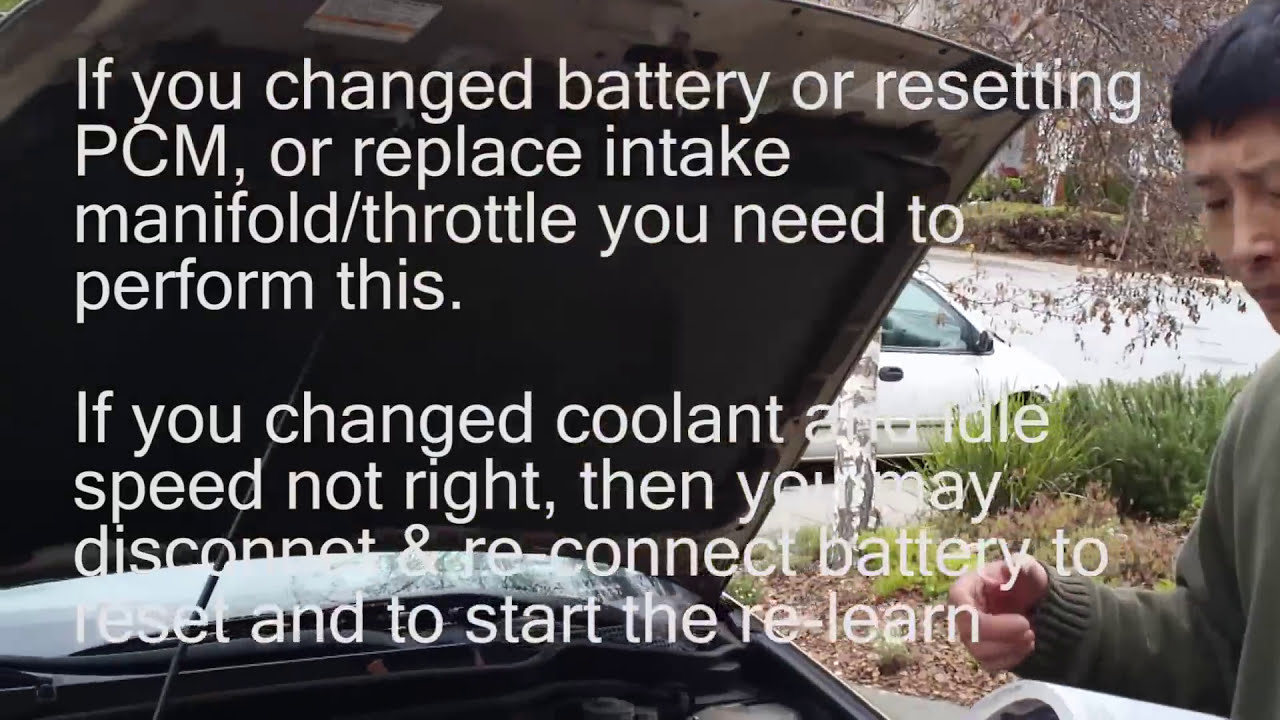 Pcm Idle Learn Procedure For Honda Accord  Genius Asian 03:39 HD